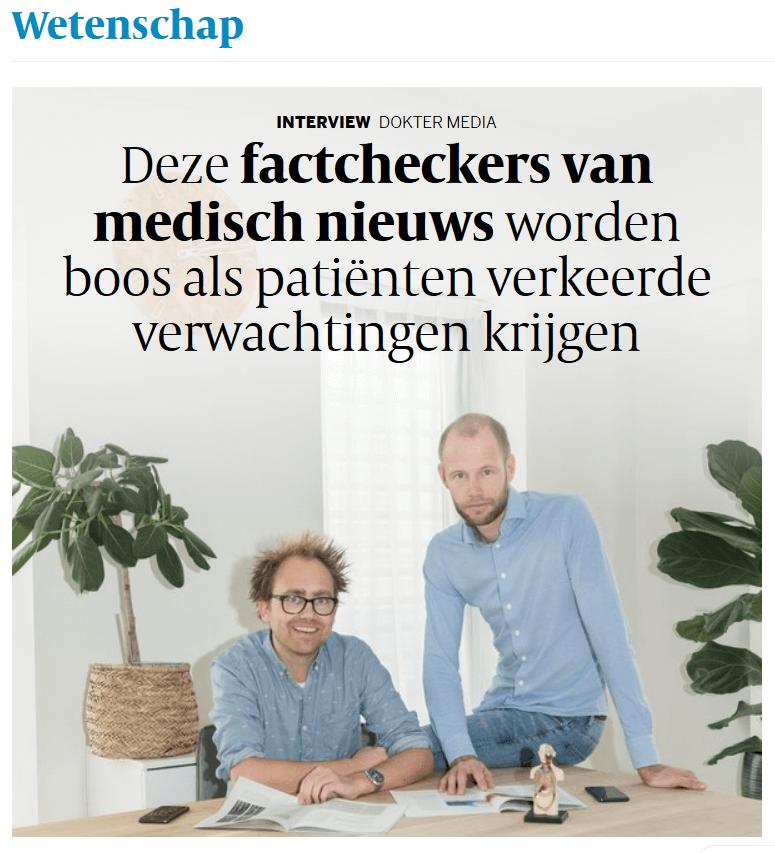 Homepage Volkskrant